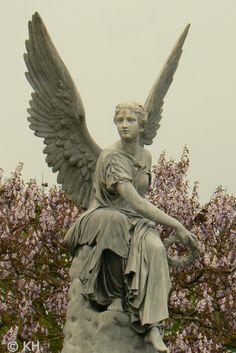 Angel Statue in Nijmegen, The Netherlands