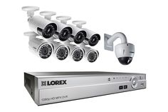 A powerful 9-camera HD home security system with 4 ultra-wide angle security cameras and HD 720p PTZ.
