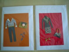 Fashion greeting cards by Diana Gaisser