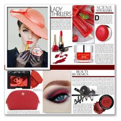 """Lady Thrillers"" by tinayar ❤ liked on Polyvore featuring beauty, Urban Decay, NARS Cosmetics, MAKE UP FOR EVER, Dr. Sebagh, Clinique and Tory Burch"