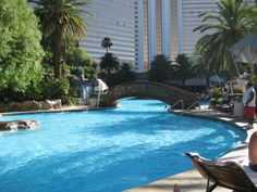 Mirage Pool - Voted one of the best pools in the US :) Love the pool! Always go!