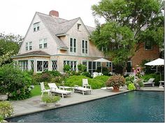 This is fascinating - Grey Gardens, the real house that you know all about if you saw that HBO movie with Drew Barrymore.