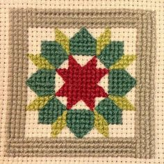 Block one of my #quiltystitches sampler is complete. Still undecided on grey or white backgrounds so I'll wait a bit to fill it in. Also, I'...