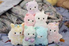 Japanese+Plushies | cute japan kawaii Personal plushies pastel plush cotton candy macaroon ...