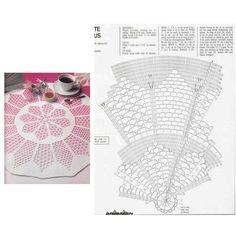 Crochet Doilies, Napkins, Crochet Patterns, Crochet Tablecloth, Crochet Batwing Tops, Towels, Crochet Storage, Crochet Doll Pattern, How To Knit