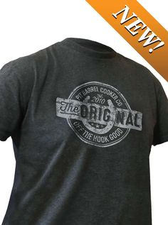 """The Original OTHG t-shirt is a well-fitting, comfortable, good-for-everyday wearing t-shirt that's made of 100% t-shirt material and washing machine safe. Large to 3XL are available in the male fit, and Medium to XL tapered cut for the ladies. With a """"distressed"""" version of the PBC Original Stamp on the front, and a splash of color on the back of the neck, It's just an awesome shirt."""