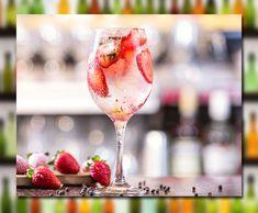 Mais uma versão: o Summer Berry do Brexó bar. Nele tem gim, água tônica, morangos fatiados e pimenta preta - parece refrescante!