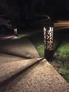 Lighting System Design Outdoor Dallas Light Pathway