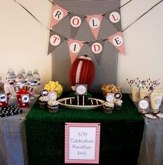 37 Awesome Parker S Alabama Birthday Party Images Football Parties