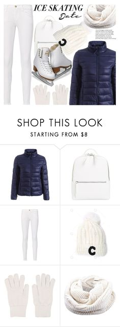 """""""Skate Date: Ice Skating Outfit"""" by fattie-zara ❤ liked on Polyvore featuring Chelsea28, Frame and Gentryportofino"""