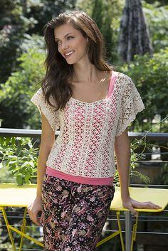 Ravelry: Lace Essence Top pattern by Dora Ohrenstein