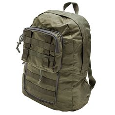 The Expanding SERE Pack in Ranger Green expands to a full sized pack in seconds. Tactical Equipment, Tactical Bag, Go Bags, Bug Out Bag, Ranger, Pouch, Packing, Backpacks, Green