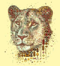 Kozi's Lioness by tsevis, via Flickr