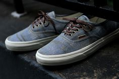 VANS Authentic California - Stained Light Blue | Sneaker | Kith NYC