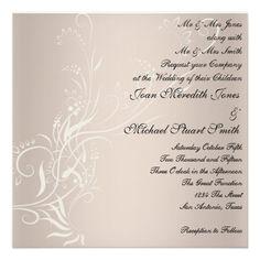 Popular Wedding Invitation