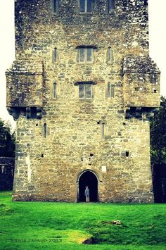 Aughnanure Castle by Annie Japaud  Oughterard, Galway, Ireland