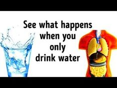 What Would Happen If You Replace All Drinks with Water? - YouTube