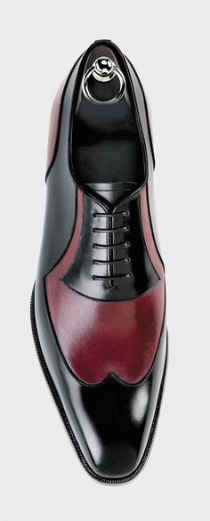low priced 1f9c9 97ea6 Handmade Mens Burgundy Black Leather Shoes, Mens Lace Up Wing Tip Formal  Shoes