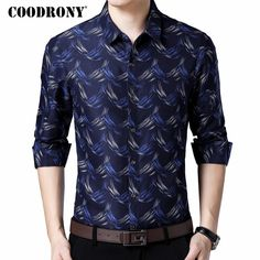 dfec0da2c5804 COODRONY Long Sleeve Shirt Men Clothing 2018 Autumn New Arrivals Camisa  Masculina Slim Fit Business Casual Shirts Men Dress 8736 Review