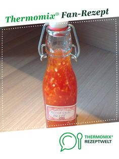 Sweet Chili Sauce from A Thermomix ® recipe from the Sauces / Dips / Spreads category on www.de, the Thermomix ® Community. Sweet Chili Sauce Renate Pfab pfabrenate Thermomix Sweet Chili Sauce from A T All Recipes Lasagna, All Recipes Chili, Meatloaf Recipes, Sauce Béarnaise, Chili Sauce Recipe, Sauce Recipes, Slow Cooker Chili, Slow Cooking, All Recipes Cookies
