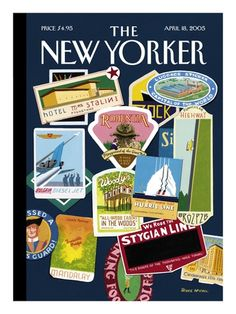 New Yorker Cartoons, Cover Art Prints & Posters - The Condé Nast Collection