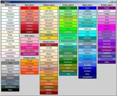 #colours #names #adjetives #voc #ELT