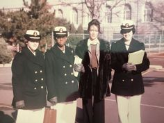 JoAnna Cameron consulting on women at the Naval Academy