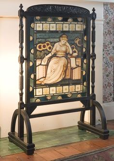 Morris & Co. fire screen