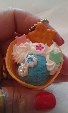 Kawaii+keychancell+phone+charm+small+ice+cream+with+by+josmoon,+$8.00