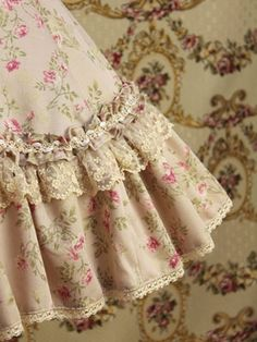 Victorian style and vintage lace