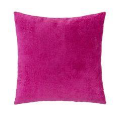 Found it at AllModern - Magenta Velvet Square Pillow