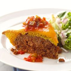 Enchilada Meat Loaf #foods #recipes