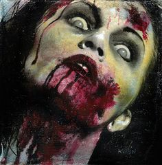 Zombie 8 Nina H by TheZombieHorde on Etsy, $150.00