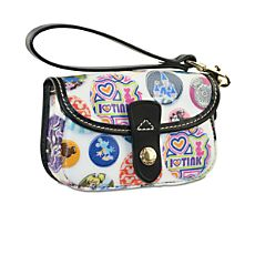 Mickey Mouse Wristlet Bag by Dooney & Bourke from Disney Store and available at The Mall at Park Avenue.