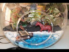 Teraryum yapılışı ve su efekti.Making of terrarium and water effect. - YouTube