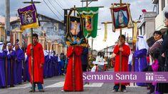 El Guionero personaje esencial de #SemanaSanta en #Tabacundo #Pichincha #SomosCultura