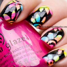 Nail Art Sunday – Flower Power - My Nail Polish Online