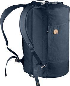 Innovative Duffel-Reisetasche mit durchgängigem Reißverschluss für idealen Überblick über den Gepäckinhalt. Komfortabel auf dem Rücken zu tragen dank gepolsterter Schultergurte. Das gepolsterte Rückenteil verhindert ein Drücken des Inhalts gegen den Rücke