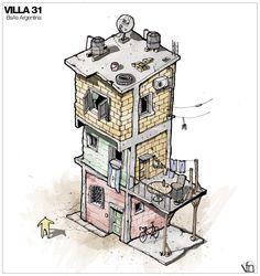 Galería de La arquitectura oculta a mano alzada, por Fernando Neyra - 4