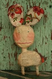 "The Crafte Nook: Julie Arkell ""  Her little creatures that she creates from paper mache and wool and fabric just make my heart sing"""