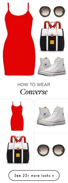 """personal style"" by thesunnysidekid on Polyvore featuring BKE core, Converse, Henri Bendel and Gucci"
