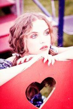 Rasa Zukauskaite by Ellen von Unwerth (Magical Mystery Tour - Lula #13 Fall 2011)