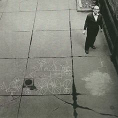 Saul Steinberg by Hans Namuth