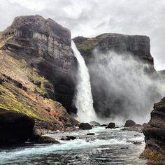 """thetrans-atlantic: """"Haifoss, Iceland """""""