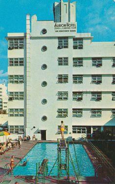 Albion Hotel - Miami Beach, Florida - still open!