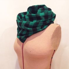 Cozy flannel green & black buffalo plaid by LuckyLambandCo on Etsy