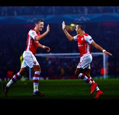 Arsenal duo