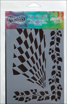 "Amazon.com: Dyan Reaveley's Dylusions Stencils 5"" X 8""-Luscious Leaves"