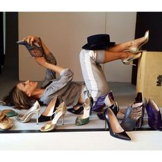 with the right pair of shoes you can conquer the world .... TheyAllHateUs | Page 7