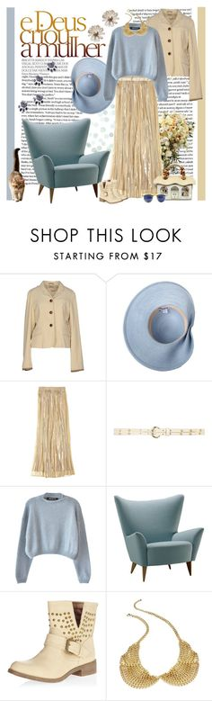 """e Deus criou a mulher"" by fashion-mariquita-camy ❤ liked on Polyvore featuring Polo Ralph Lauren, Eugenia Kim, Calypso St. Barth, Dorothy Perkins, Ter Et Bantine and Material Girl"